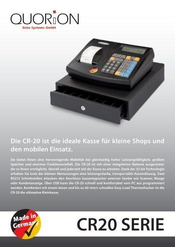 CR20 SERIE - Berchtold Kassen