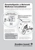 Sony NW-E403 - NW-E403 Istruzioni per l'uso Ungherese - Page 5