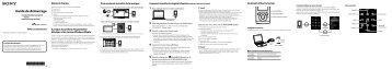 Sony NWZ-E353 - NWZ-E353 Guida di configurazione rapid Francese