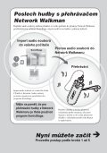Sony NW-E403 - NW-E403 Istruzioni per l'uso Ceco - Page 6