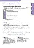 Sony NWZ-B142F - NWZ-B142F Istruzioni per l'uso Ungherese - Page 2