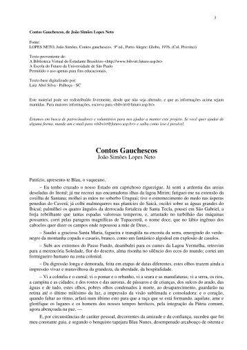 131322964-Contos-Gauchescos-pdf