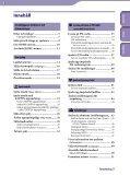 Sony NWZ-B142F - NWZ-B142F Istruzioni per l'uso Svedese - Page 3