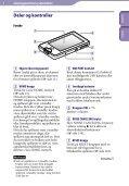 Sony NWZ-X1060 - NWZ-X1060 Istruzioni per l'uso Norvegese - Page 6