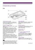 Sony NWZ-X1060 - NWZ-X1060 Istruzioni per l'uso Rumeno - Page 6
