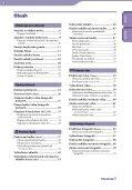 Sony NWZ-X1060 - NWZ-X1060 Istruzioni per l'uso Ceco - Page 3