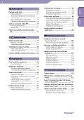 Sony NWZ-X1060 - NWZ-X1060 Istruzioni per l'uso Ceco - Page 4