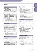 Sony NWZ-X1060 - NWZ-X1060 Istruzioni per l'uso Portoghese - Page 3