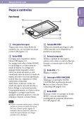 Sony NWZ-X1060 - NWZ-X1060 Istruzioni per l'uso Portoghese - Page 6