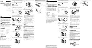 Sony NWZ-E454K - NWZ-E454K Istruzioni per l'uso Slovacco