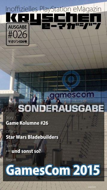 Inoffizielles PlayStation eMagazin KRYSCHEN #026