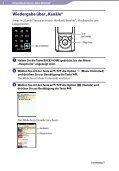 Sony NWZ-S764 - NWZ-S764 Istruzioni per l'uso Tedesco - Page 4