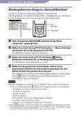 Sony NWZ-S764 - NWZ-S764 Istruzioni per l'uso Tedesco - Page 7