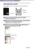 Sony NWZ-E465 - NWZ-E465 Istruzioni per l'uso Tedesco - Page 4