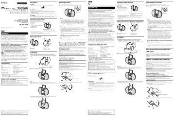 Sony NWZ-E443K - NWZ-E443K Istruzioni per l'uso Turco