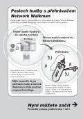 Sony NW-E405 - NW-E405 Istruzioni per l'uso Ceco - Page 6
