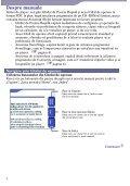 Sony NW-A805 - NW-A805 Istruzioni per l'uso Rumeno - Page 2