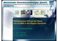 Webbasiertes GIS in der Region Hannover - IAPG