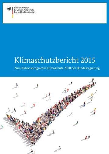 Klimaschutzbericht 2015