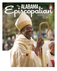 THE EPISCOPAL DIOCESE OF ALABAMA