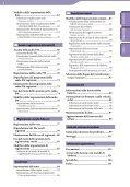 Sony NWZ-E443 - NWZ-E443 Istruzioni per l'uso Italiano - Page 4