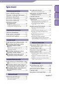 Sony NWZ-E443 - NWZ-E443 Istruzioni per l'uso Polacco - Page 3