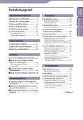 Sony NWZ-E443 - NWZ-E443 Istruzioni per l'uso Ungherese - Page 3