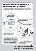Sony NW-E503 - NW-E503 Istruzioni per l'uso Ungherese - Page 5