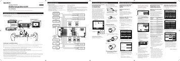 Sony TA-VE800G - TA-VE800G Istruzioni per l'uso Francese