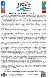 """Pizzeria """"Al Torrente"""""""