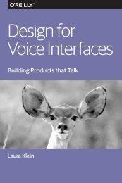 Voice Interfaces