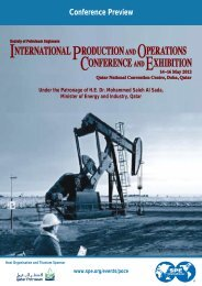 production international operations conference exhibition