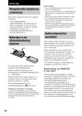 Sony SCD-XE670 - SCD-XE670 Istruzioni per l'uso Svedese - Page 6