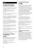Sony SA-NS310 - SA-NS310 Istruzioni per l'uso Portoghese - Page 2