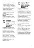 Sony SA-NS310 - SA-NS310 Istruzioni per l'uso Portoghese - Page 3