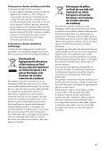 Sony SA-NS510 - SA-NS510 Istruzioni per l'uso Portoghese - Page 3