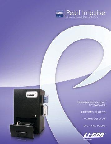 Pearl Impulse Small Animal Imaging System Brochure