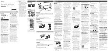 Sony GTK-N1BT - GTK-N1BT Istruzioni per l'uso Spagnolo