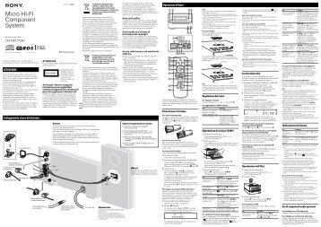 Sony CMT-BX77DBI - CMT-BX77DBI Istruzioni per l'uso Italiano