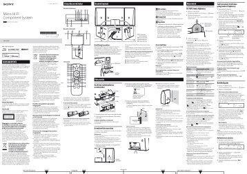 Sony CMT-CX5iP - CMT-CX5IP Istruzioni per l'uso Ungherese