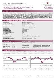 Produktinformationsblatt - FPM-AG