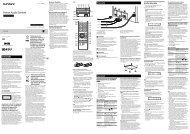 Sony CMT-S20B - CMT-S20B Istruzioni per l'uso Italiano