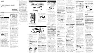 Sony CMT-BT60 - CMT-BT60 Istruzioni per l'uso Italiano