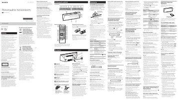 Sony CMT-BT60 - CMT-BT60 Istruzioni per l'uso Estone