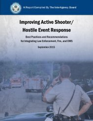Improving Active Shooter/ Hostile Event Response