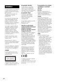 Sony CMT-G2BNiP - CMT-G2BNIP Istruzioni per l'uso Sloveno - Page 2