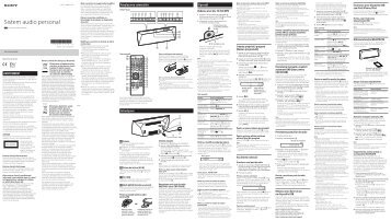 Sony CMT-BT60B - CMT-BT60B Istruzioni per l'uso Rumeno