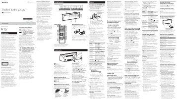 Sony CMT-BT60B - CMT-BT60B Istruzioni per l'uso Croato