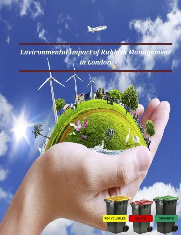Environmental impact of rubbish collection management in London