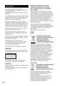 Sony CMT-X7CDB - CMT-X7CDB Istruzioni per l'uso Danese - Page 2